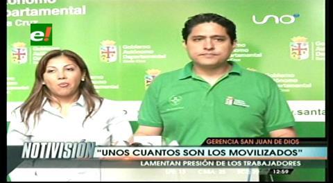 Gobernación. Pese al paro hospital San Juan de Dios continúa atendiendo en sus 20 servicios