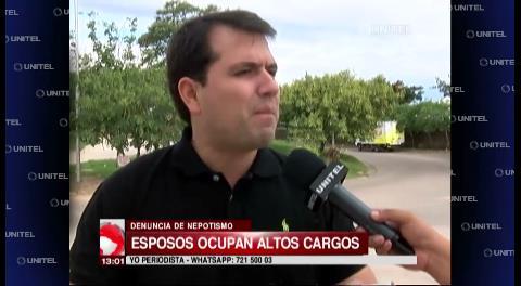 Ex concejal Roca denuncia nepotismo en dos secretarías municipales