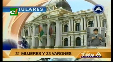 Titulares de TV: Comisión de Constitución habilitó a 64 postulantes para la Defensoría del Pueblo