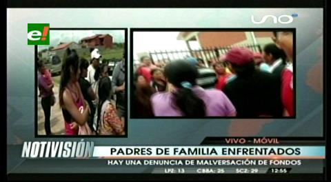 Santa Cruz: Padres enfrentados en el colegio 24 de Marzo