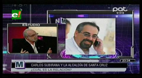 Landívar justifica publicación en la revista Forbes a través de Carlos Subirana