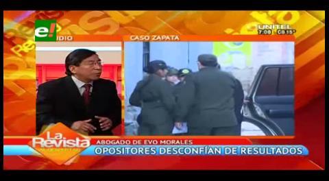 """Abogado de Evo Morales: """"No es creíble la existencia del niño"""""""