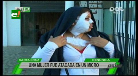Una mujer denuncia que fue agredida en un micro