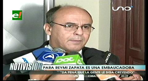"El ministro Ferreira llama ""embaucadora"" a Gabriela Zapata"