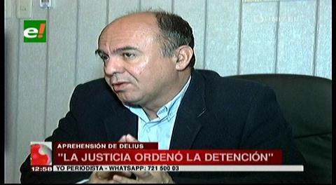 Ministro Ferreira asegura que la justicia ordenó la detención de Delius y no el Gobierno
