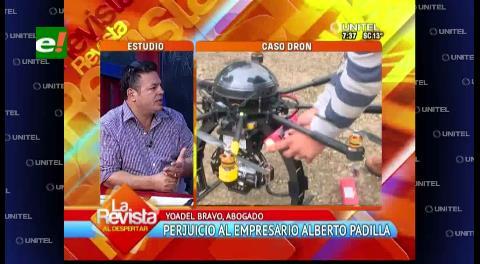 """Bravo: """"Es necesaria una pericia y la auditoría en el caso dron"""""""