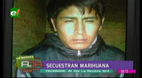 Felcc-Montero: Caen varias personas en plena venta de marihuana