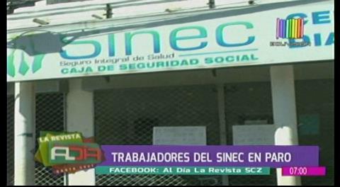 Trabajadores del Sinec confirman paro de 72 horas