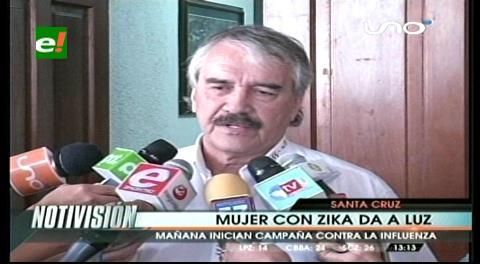 Segundo parto de paciente con zika en Santa Cruz