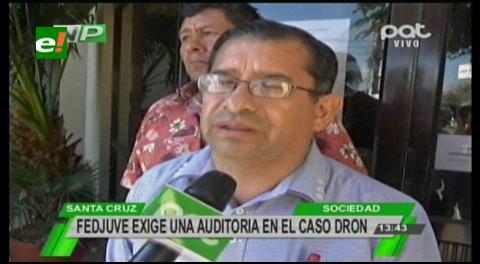 Fejuve exige una auditoría en el caso dron, amenazan con movilizaciones