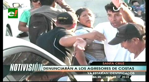 Gobernador Costas es agredido en puertas de la Fiscalía