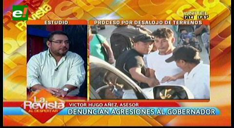 Gobernación cruceña denunciará a abogado de los desalojados de Cadepia