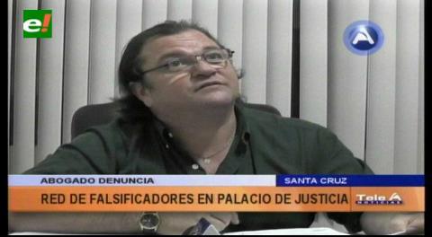 Denuncian red de falsificadores en el Palacio de Justicia de Santa Cruz