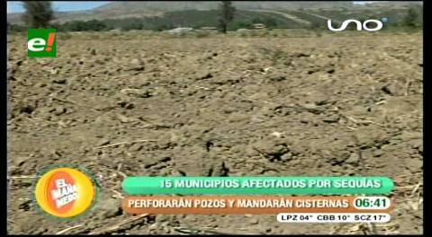 Unos 15 municipios de Cochabamba se declaran emergencia por la sequía