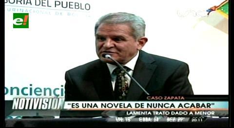 """Villena y el caso Zapata: """"Es una novela de nunca acabar"""""""