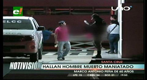 Maniatan y asesinan a capataz en Guarayos