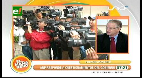 ANP ve con preocupación la demanda del Gobierno contra Wilson García Mérida