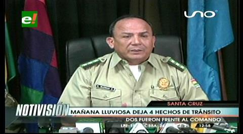 Santa Cruz: Policía ve imprudencia  en los hechos de tránsito