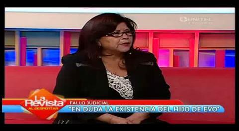 """Abogada de Evo: """"No hay sujeto de derechos a quien tutelar"""""""