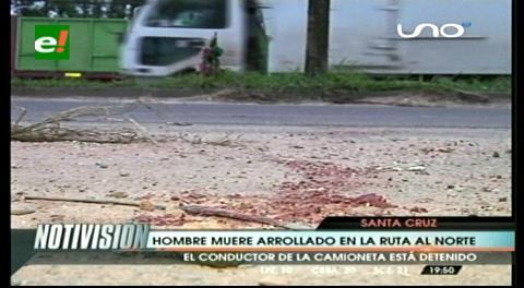 Muere peatón atropellado por conductor sin licencia