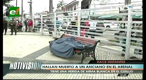 Encuentran un hombre muerto en El Arenal