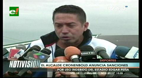 Cronenbold niega autorización de churrasco y anuncia sanciones