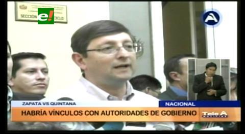 Senador Ortiz: Se debe investigar el tráfico de influencias; Zapata en Camc no aportaba a la AFP
