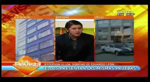 """Abogado de Eduardo León: """"La detención es una acción política"""""""