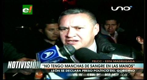 """León a Quintana: """"Donde quiera le haré saber lo que es tener pantalones"""""""