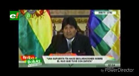 Evo Morales y García Linera dijeron que el niño existió