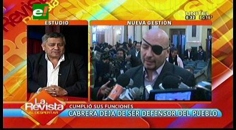 """Cabrera: """"Han sido públicas las presiones del Presidente y Ministros"""""""