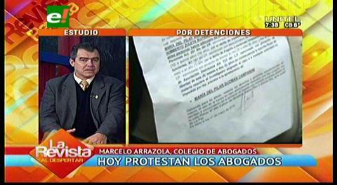 Abogados protestarán por abusos ante la precumbre judicial