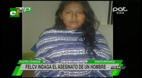 Mujer causa la muerte de su marido y luego se da a la fuga
