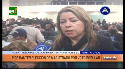 Cumbre de Justicia: Piden mantener la elección de magistrados por voto popular