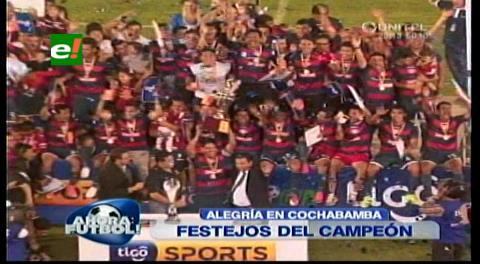 Wilstermann es el nuevo campeón del fútbol boliviano