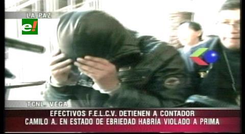 Aprehenden a un hombre acusado de violar a su prima de 15 años