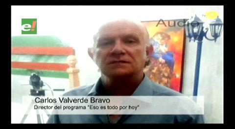 Periodista Valverde está 'escondido' y el Gobierno dice que hace show