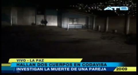 Hallan sin vida, junto a su esposa, al chofer del senador Óscar Ortiz