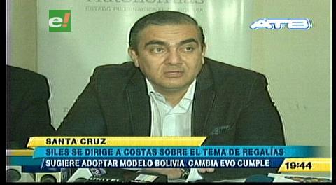 Ministro Siles sugiere a Costas copiar el modelo Evo Cumple