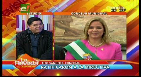 """Sanjinez: """"En el Concejo no se puede hacer una real fiscalización"""""""