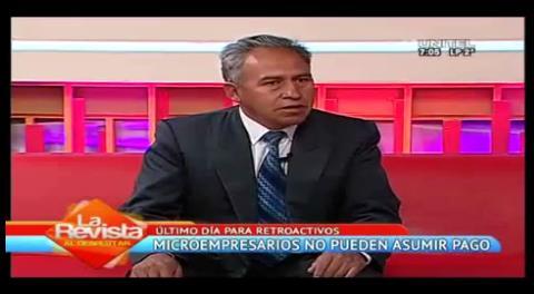 La Paz: Microempresarios no pueden pagar el retroactivo