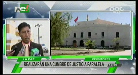 Organizaciones sociales opositoras realizarán una Cumbre de Justicia paralela
