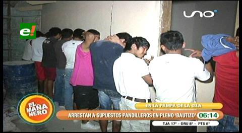 Policía detuvo a supuestos pandilleros en operativos en la Pampa de la Isla