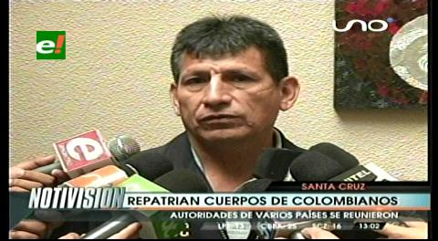Repatrían cuerpos de colombianos abatidos por la Policía