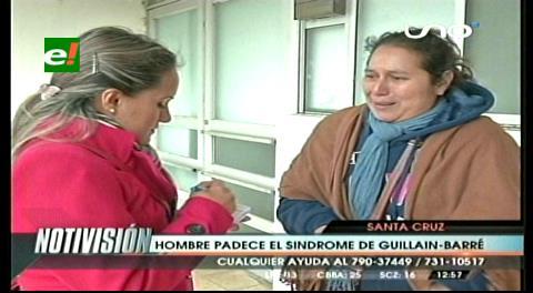 Persona de 36 años padece del síndrome de Guillain-Barré