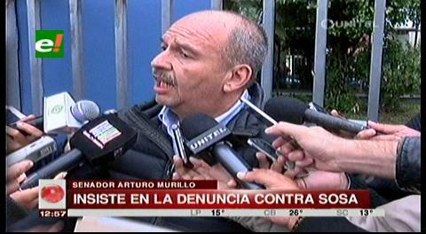 Murillo entrega pruebas sobre tráfico en Alcaldía de Santa Cruz