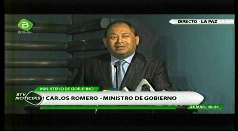 Romero: No hay cédula de identidad ni flujo migratorio del supuesto hijo de Evo, duda que esté en el exterior