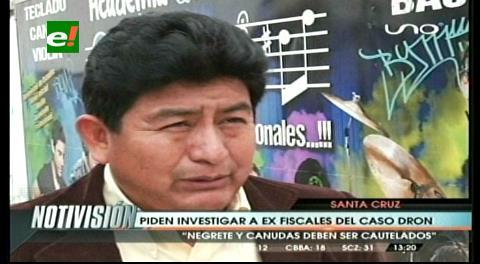 """Diputado Montaño y el caso dron: """"Canudas y Negrete deben ser cautelados"""""""