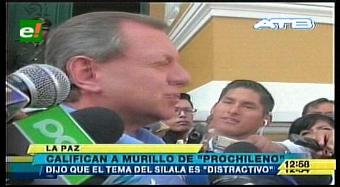 Gonzales califica de nuevo prochileno al senador Arturo Murillo