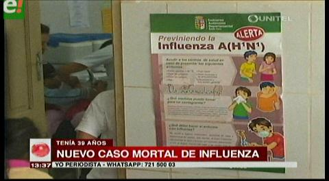 Santa Cruz. Sedes confirma tercera muerte por influenza